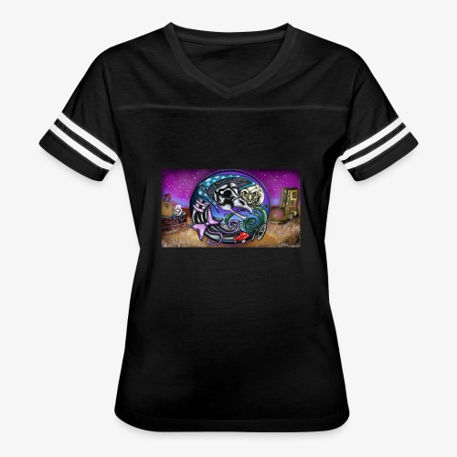 Mother CreepyPasta Land - Women's Vintage Sport T-Shirt