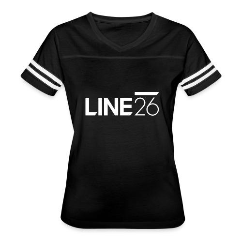 Line26 Logo (Light Version) - Women's Vintage Sport T-Shirt