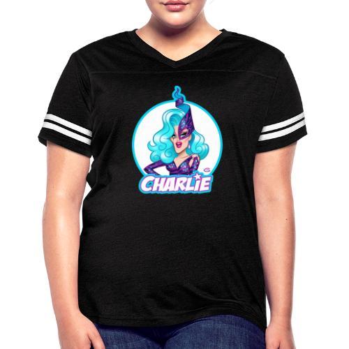Dame Charlie Hides by Glen Hanson - Women's Vintage Sport T-Shirt