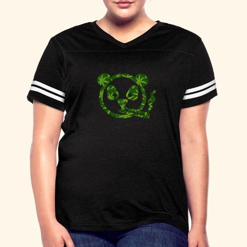 PANDA SMOKING - PANDAS STONER - CANNABISLEAF - Women's Vintage Sport T-Shirt