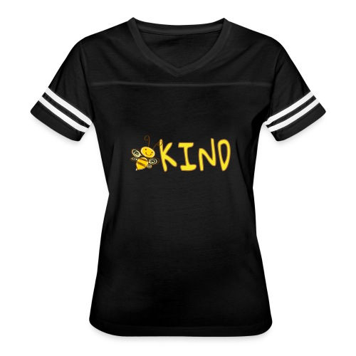 Be Kind - Adorable bumble bee kind design - Women's Vintage Sport T-Shirt