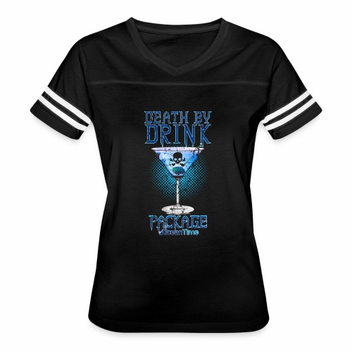 Death by Drink Package - Women's Vintage Sport T-Shirt