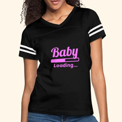 Pink Baby Loading - Women's Vintage Sport T-Shirt