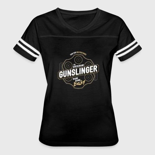 Gunslinger Class Fantasy RPG Gaming - Women's Vintage Sport T-Shirt