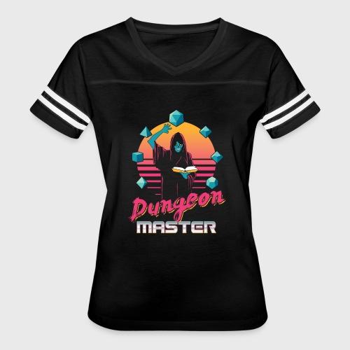 dungeon master outrun neon fantasy gift shirt - Women's Vintage Sport T-Shirt