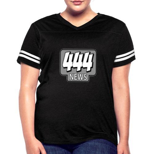 444 News Logo - Women's Vintage Sport T-Shirt