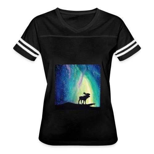 Night Moose - Women's Vintage Sport T-Shirt