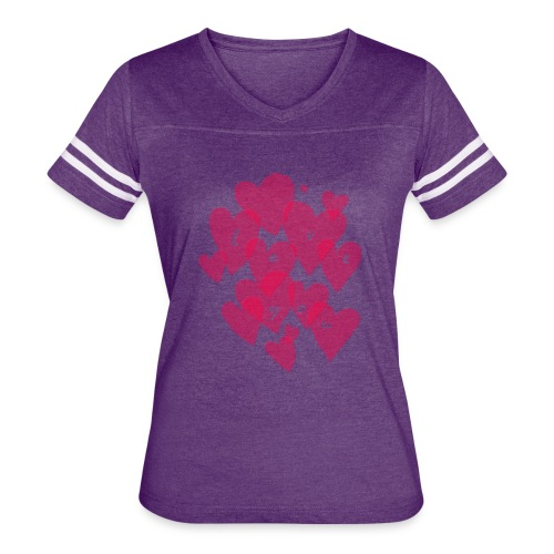 love you - Women's Vintage Sport T-Shirt
