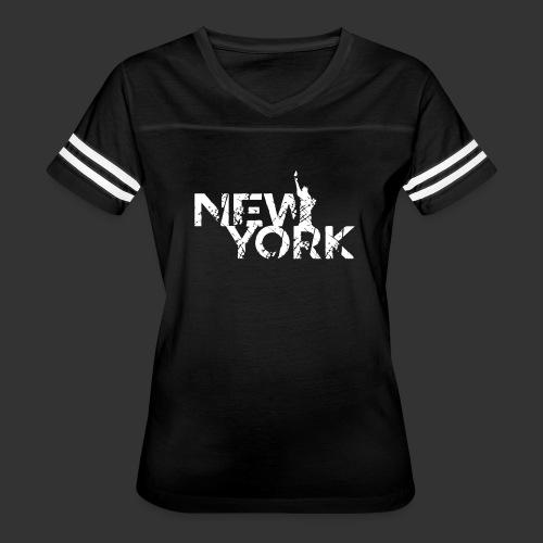 New York (Flexi Print) - Women's Vintage Sport T-Shirt