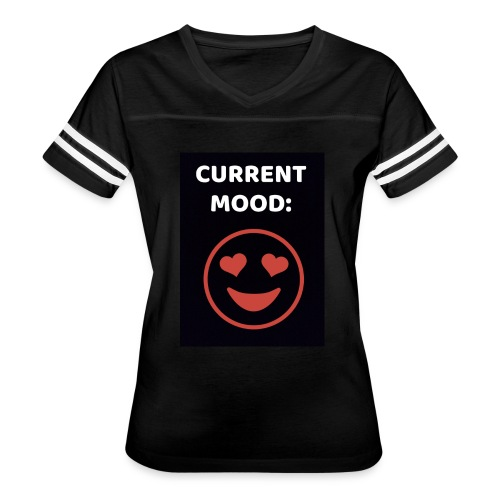 Love current mood by @lovesaccessories - Women's Vintage Sport T-Shirt