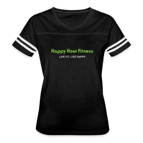 HHF_logotypeandtag - Women's Vintage Sport T-Shirt
