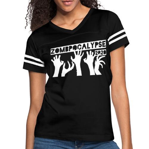 Zombpocalypse 2020 - Women's Vintage Sport T-Shirt