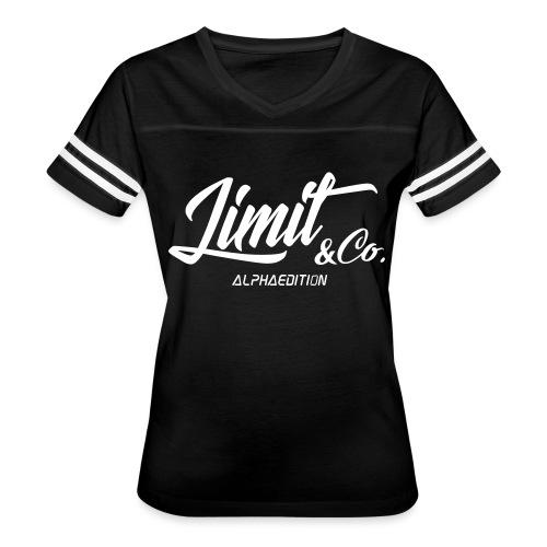 White T-Shirt Alpha Edition 2.0 (Women) - Women's Vintage Sport T-Shirt