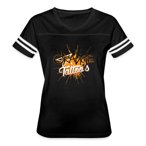 Orange Tattoo's - Women's Vintage Sports T-Shirt