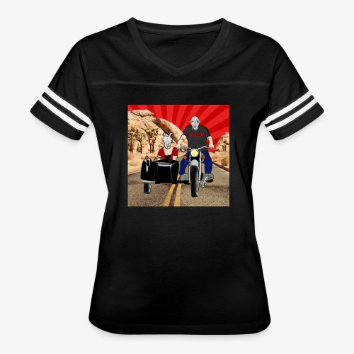 THE BELLE ENDS EASY RIDERS - Women's Vintage Sport T-Shirt