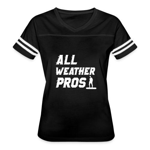 Messenger 841 All Weather Pros Logo T-shirt - Women's Vintage Sport T-Shirt