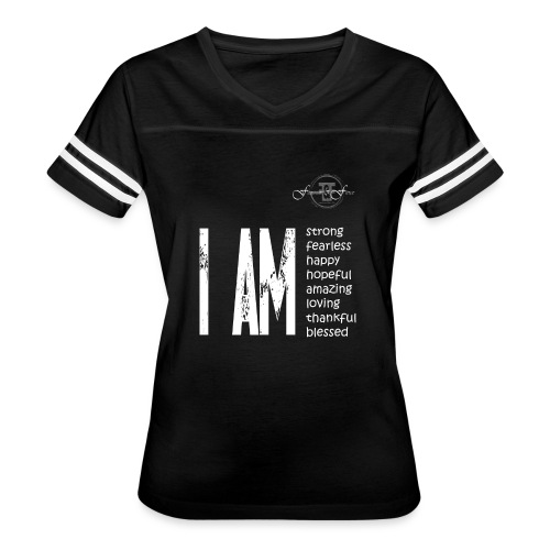 I AM ... Feminine and Fierce - Women's Vintage Sport T-Shirt