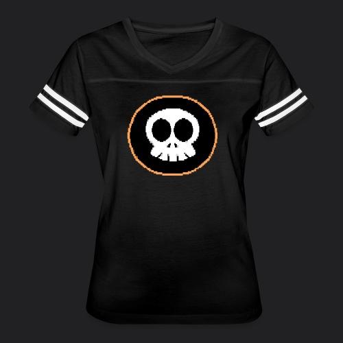 Skully-ANSI-Large - Women's Vintage Sport T-Shirt