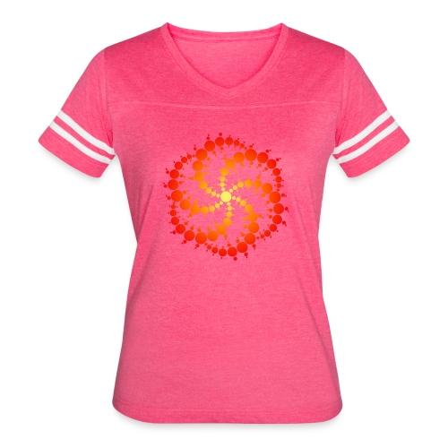 Crop circle - Women's Vintage Sport T-Shirt