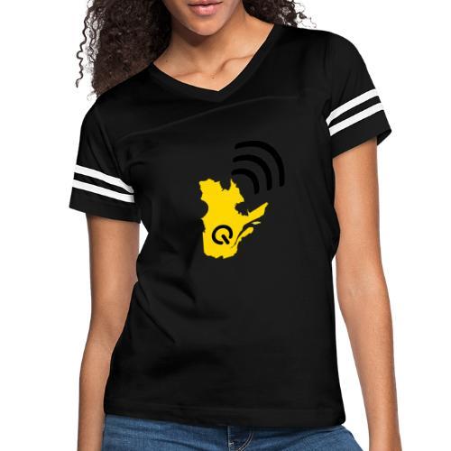 Radio-Québec - T-shirt sport rétro pour femmes