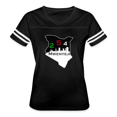 Mwenyeji Wa Kenya - Women's Vintage Sport T-Shirt