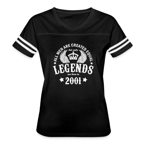 Legends are Born in 2001 - Women's Vintage Sport T-Shirt
