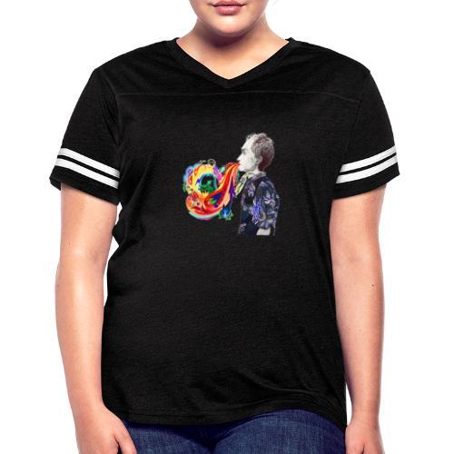 Breathe Cover Art - Women's Vintage Sport T-Shirt