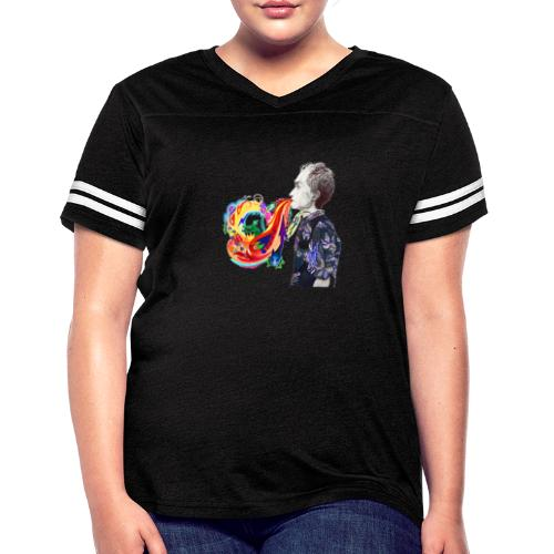 Breathe Cover Art - Women's Vintage Sports T-Shirt