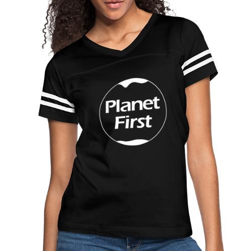 Planet First - Women's Vintage Sport T-Shirt