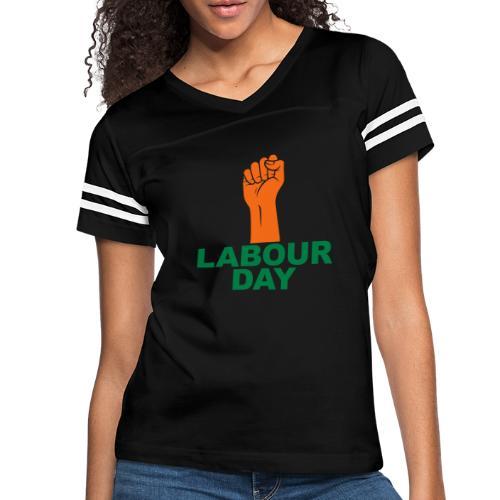 Labour day / Fist / 2c - Women's Vintage Sports T-Shirt