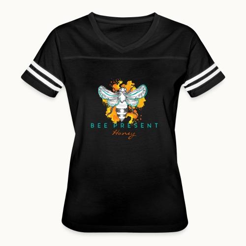 Bee Present Honey Tee - Women's Vintage Sport T-Shirt