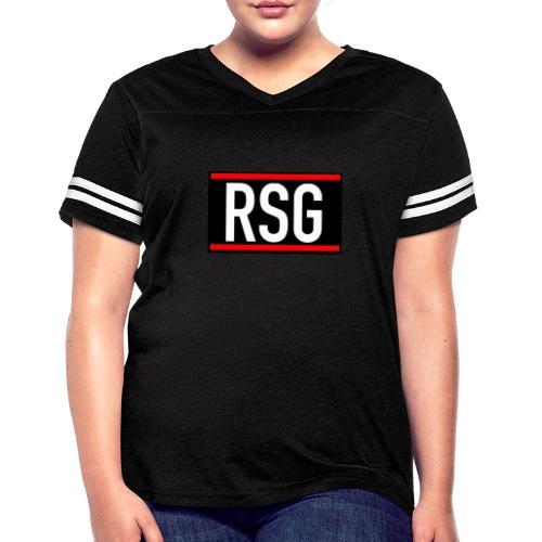 RSG Rythmic Sports Gymnastics - Women's Vintage Sport T-Shirt