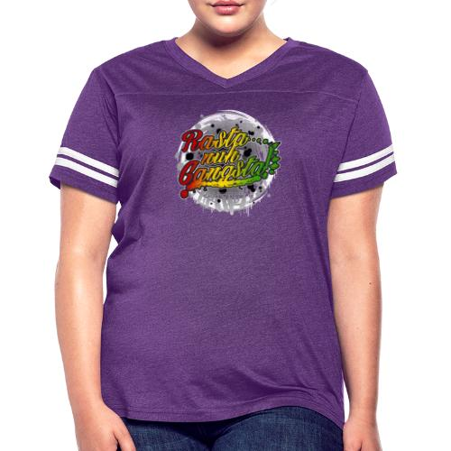 Rasta nuh Gangsta - Women's Vintage Sport T-Shirt