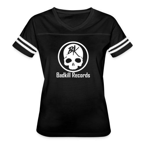 Badkill Logo White - Women's Vintage Sport T-Shirt