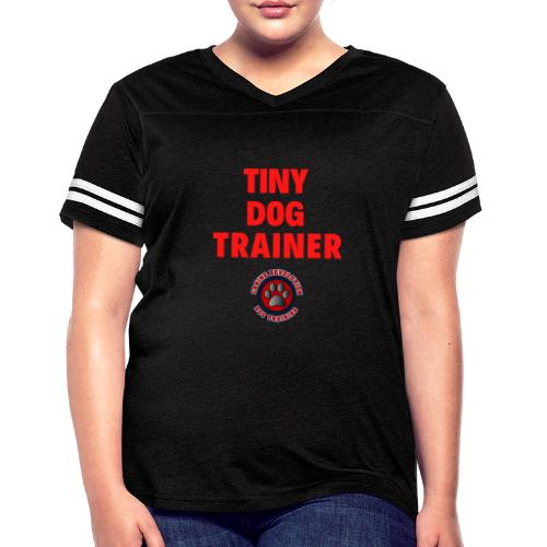 Tiny Dog Trainer - Women's Vintage Sports T-Shirt