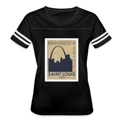 Bienvenido A Saint Louis - Women's Vintage Sport T-Shirt