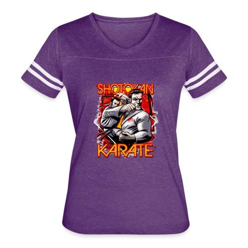 Shotokan Karate - Women's Vintage Sport T-Shirt