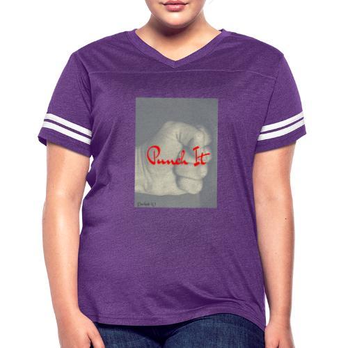 Punch it by Duchess W - Women's Vintage Sport T-Shirt