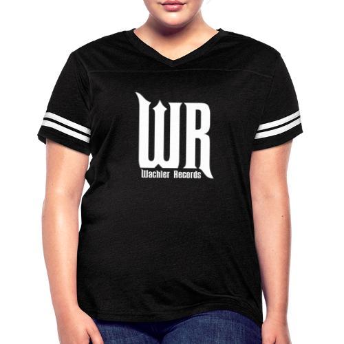 Wachler Records Light Logo - Women's Vintage Sport T-Shirt