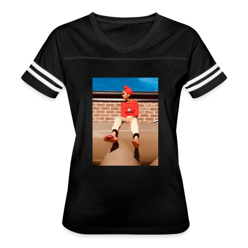 Flamin_Danger - Women's Vintage Sport T-Shirt