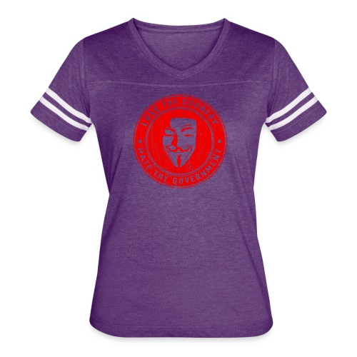 red love thy country - Women's Vintage Sport T-Shirt