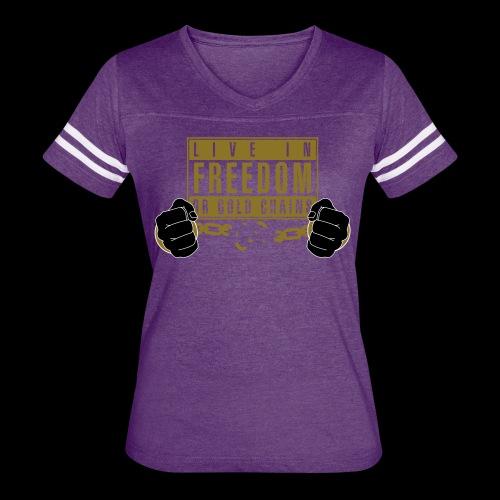 Live Free - Women's Vintage Sport T-Shirt
