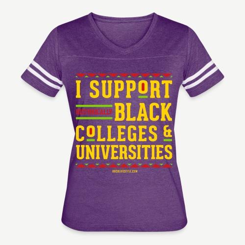I Support HBCUs - Women's Vintage Sport T-Shirt