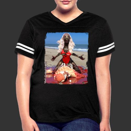 Undead Angels: Zombified Lifeguard Shay - Women's Vintage Sport T-Shirt