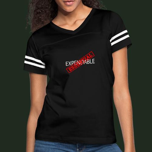 Esspendable - Women's Vintage Sports T-Shirt