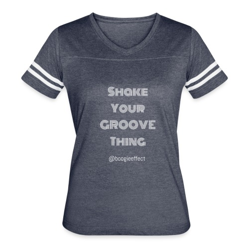 shake your groove thing white - Women's Vintage Sport T-Shirt