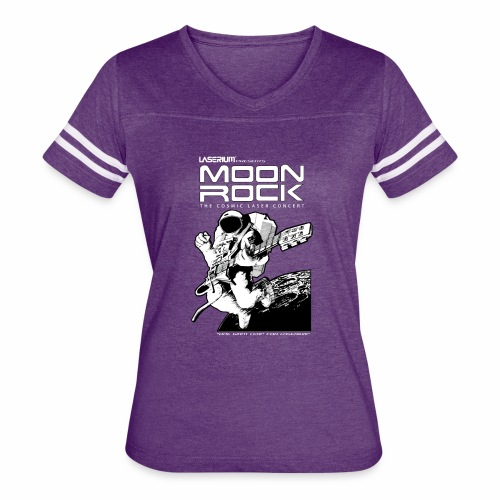 Classic Moon Rock - Women's Vintage Sport T-Shirt