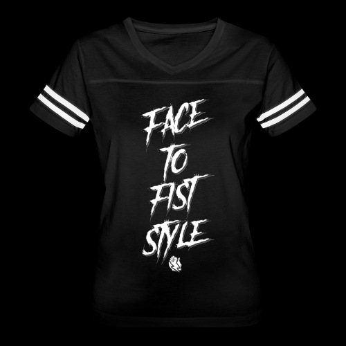 Face To Fist Style - Women's Vintage Sport T-Shirt