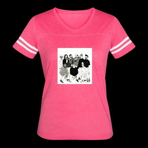 The DBD Show EP Cover Art - Women's Vintage Sport T-Shirt