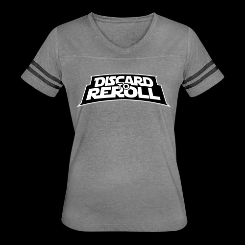 Discard to Reroll: Logo Only - Women's Vintage Sport T-Shirt